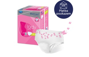 Inkontinenční kalhotky MoliCare Lady Pants 5 kapek na předpis