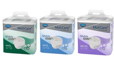 Natahovací plenkové kalhotky MoliCare Mobile