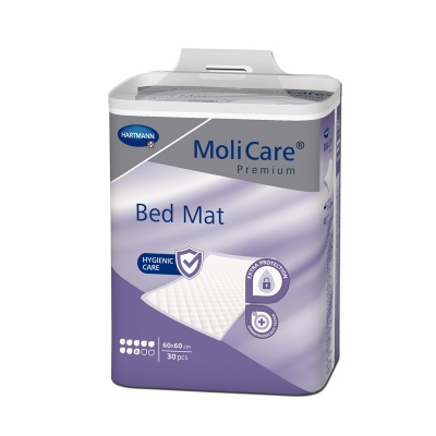 Absorpční podložky MoliCare Bed Mat 8 kapek 60 x 60 cm