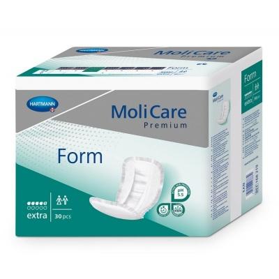 Inkontinenční vložné pleny MoliCare Premium FORM Extra pro střední inkontinenci