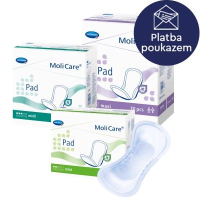 Dámské inkontinenční vložky MoliCare Pad na poukaz