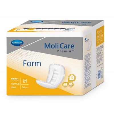 Inkontinenční vložné pleny MoliCare Premium FORM Normal Plus pro střední inkontinenci