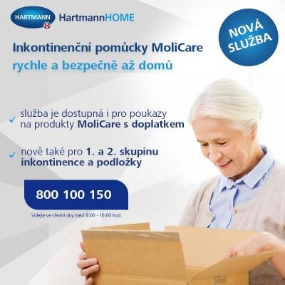 HartmannHOME - inkontinenční pomůcky na předpis rychle a diskrétně až domů