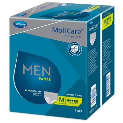 Pánské inkontinenční prádlo MoliCare Men Pants 5 kapek ve velikosti M