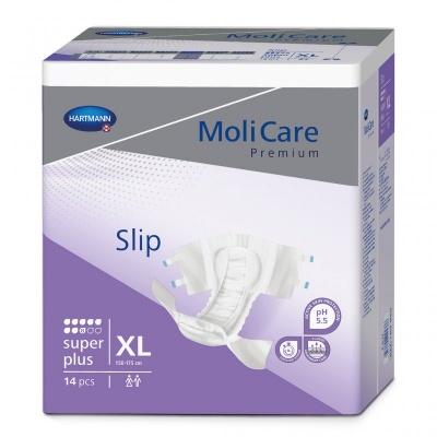 Inkontinenční zalepovací kalhotky MoliCare Premium 8 kapek velikosti XL pro těžký únik moči a stolice
