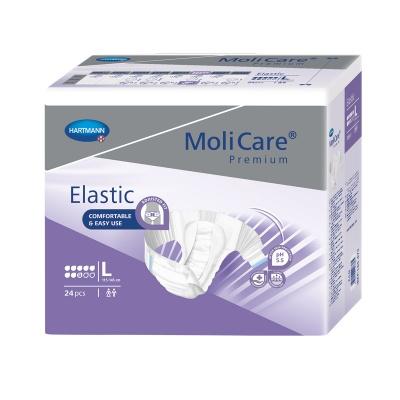 Inkontinenční kalhotky MoliCare Elastic 8 kapek velikosti L pro těžký únik moči