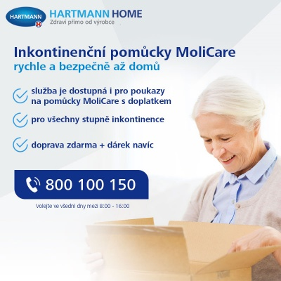Inkontinenční pomůcky na předpis až k Vám domů