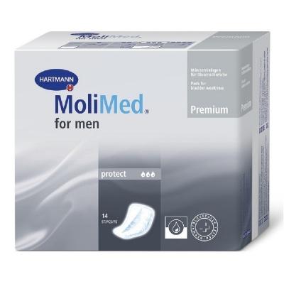 Inkontinenční vložky MoliMed for men Protect - pro muže trpící lehkým únikem moči