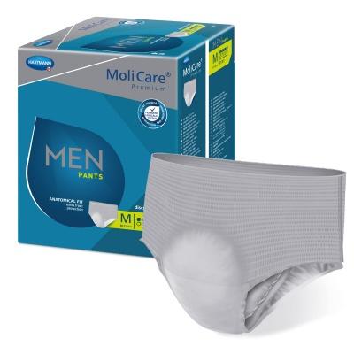 Pánské absorpční spodní prádlo MoliCare Men Pants 5 kapek