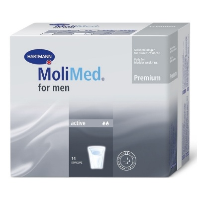 Inkontinenční vložky MoliMed for men Active - pro muže trpící lehkým únikem moči