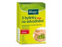 Odvodnění organismu díky doplňku stravy Kneipp 3 bylinky na odvodnění