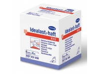 Červené elastické obinadlo Idealast-haft color