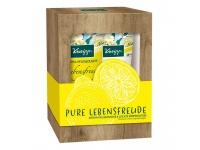 Kneipp sprchový gel a tělové mléko Radost ze života 2×200 ml v dárkovém balení