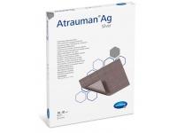 Atrauman Ag je antiseptické krytí, které obsahuje nanočástice stříbra