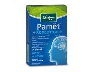 Kneipp Paměť a koncentrace doplněk stravy z kořene ženšenu 30 tobolek