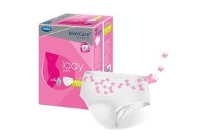 Dámské inkontinenční kalhotky MoliCare Lady Pants 5 kapek pro střední a těžký únik moči