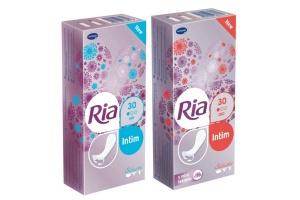 Dámské menstruační vložky Ria Intim prodyšné i s vůní leknínů