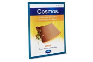 Hřejivá náplast s kapsaicinem Cosmos jemná 12,5 × 15 cm 1 ks