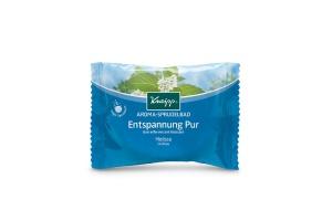 Kneipp perlivá tableta do vany Dokonalý odpočinek - Perličková koupel s meduňkou a přírodními oleji