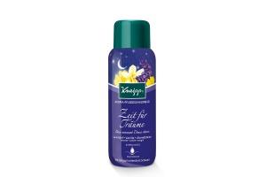 Pěna do koupele Kneipp Čas snění s přírodním levandulovým olejem a vanilkovým extraktem