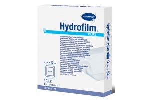 Samolepicí průhledné krytí na rány Hydrofilm Plus 9 × 10 cm 5 ks