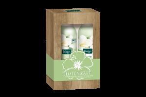 Sada sprchové pěny a pěnového tělového mléka Kneipp Hedvábný květ s výtažky ibišku