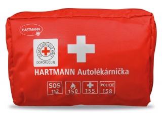 Nejkvalitnější autolékárnička HARTMANN červená