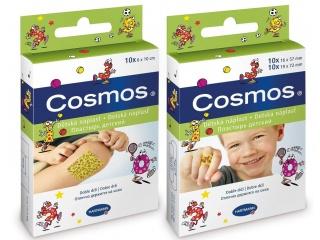 Voděodolná náplast Cosmos s dětskými motivy