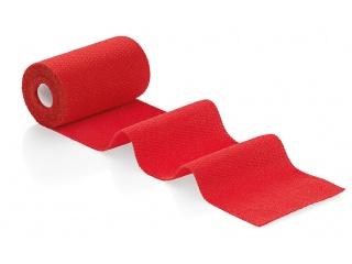 Elastické obinadlo Idealast-haft color red