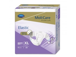 Inkontinenční kalhotky pro dospělé MoliCare Elastic 8 kapek velikost XL
