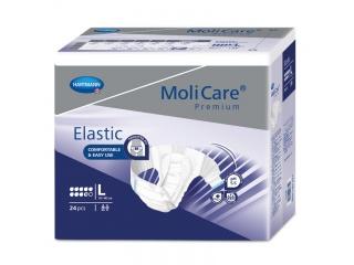 Noční inkontinenční kalhotky MoliCare Elastic 9 kapek velikost L