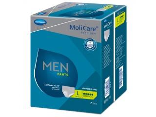 Pánské inkontinenční prádlo MoliCare Men Pants 5 kapek ve velikosti L
