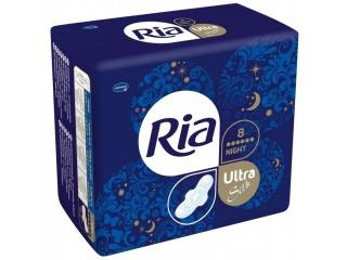 Menstruační vložky Ria Ultra Silk Night
