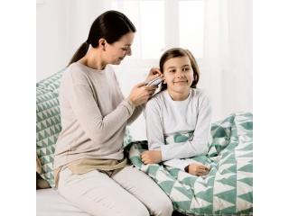 Měření teploty u dětí v uchu