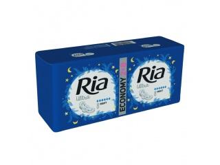 Dámské vložky Ria Ultra Night 16 Duopack - s křidélky, vhodné na noc