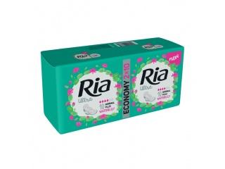 Dámské vložky Ria Ultra Normal Plus 20 Waterlily Duopack - s křidélky, s vůní