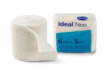 Elastické obinadlo Ideal Neo 6 cm × 5 m vhodné pro ošetřování onemocnění žilního a lymfatického systému
