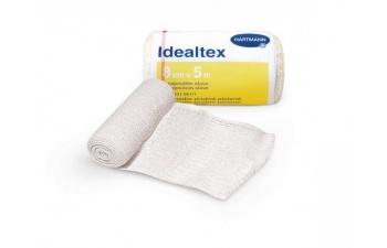 Dlouhotažné elastické obinadlo Idealtex s lehkou až střední kompresí