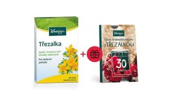Doplněk stravy z třezalky tečkované Kneipp + dárek zdarma adventní kalendář s třezalkou Kneipp