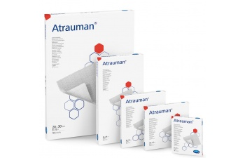 Atrauman je sterilní hydrofobní polyesterový tyl