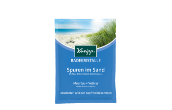 Koupelová sůl Kneipp Stopy v písku z mořských řas 60 g