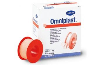 Textilní cívková náplast Omniplast se používá pro fixaci obvazů všeho druhu