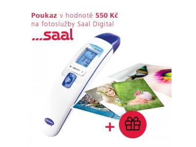 Dětský teploměr Veroval Horečka + dárek 550 Kč na fotoslužby od Saal Digital