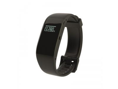 Fitness náramek Veroval umí zaznamenávat spotřebu energie, délku trvání aktivity a měří vzdálenost.