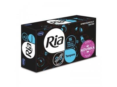 Dámské menstruační tampony Ria Normal Comfort