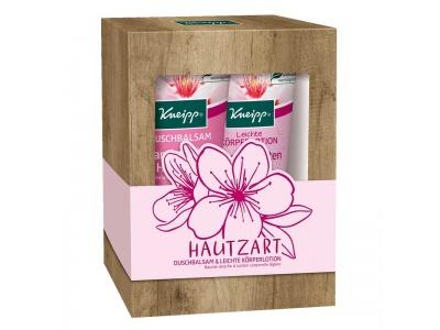 Kneipp sprchový gel a tělové mléko Mandlové květy 2×200 ml v dárkové sadě