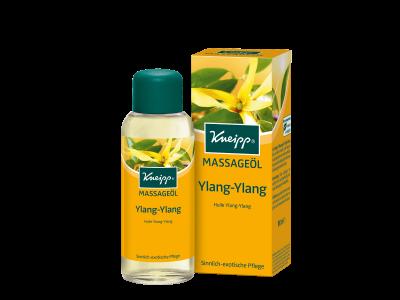 Masážní olej Kneipp Ylang-Ylang s éterickým olejem z kanangy vonné 100 ml