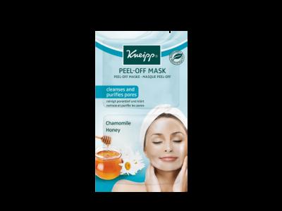 Pleťová maska a peeling Kneipp 2v1 s přírodním makadamiovým oleje a mořskou solí