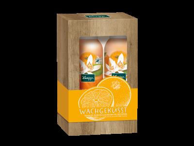 Sada sprchové pěny a pěnového tělového mléka Kneipp Ranní polibek s vůní pomerančů