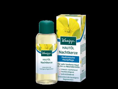 Tělový olej Kneipp Pupalka s jemným mandlovým olej a bambuckým máslem 100 ml